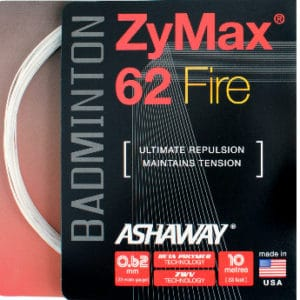 Ashaway ZyMax 62 Fire Badminton string